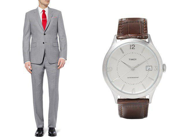 چطور ساعتتان را با کت و شلوارتان ست کنید1
